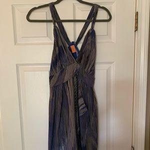 "Banana Republic ""Y"" back chiffon dress"